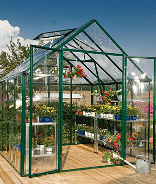 Snap N Grow Greenhouse 8 X 8 Garden Seeds And Plants